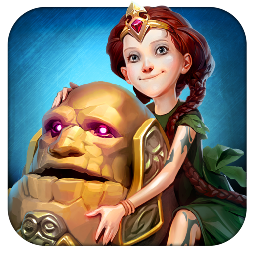 Etherlords - its card battling and world building. It looks great, too! (via @148apps)